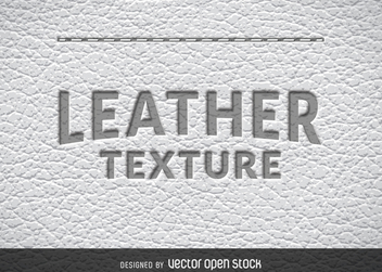 Realistic leather texture - vector gratuit #365217