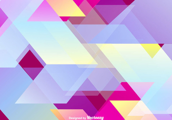 Abstract Colorful Wallpaper Vector Background - Free vector #365237