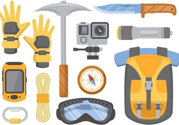 Free Mountaineer Vector - Free vector #365267