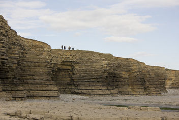 The coast near Llantwit Major - бесплатный image #365467