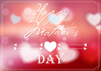 Free Mother's Day Background Vector - vector #365677 gratis