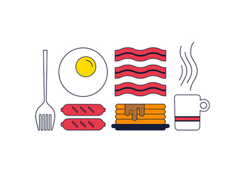 Free Breakfast Vector - бесплатный vector #365877
