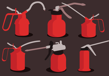 Oil Can Vector - vector #365927 gratis