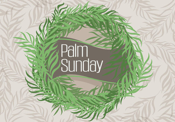 Palm Sunday - vector gratuit #366067
