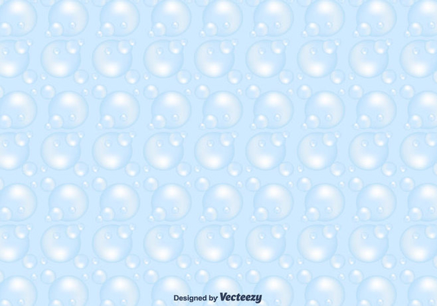 Soap Suds Vector Pattern - Free vector #366127