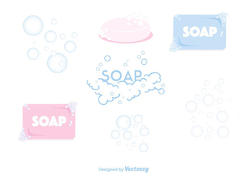 Soap Suds Vector - бесплатный vector #366477
