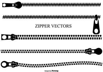 Vector Zipper Set - Free vector #366527