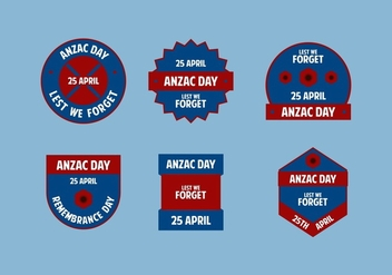 FREE ANZAC DAY VECTOR - бесплатный vector #366597