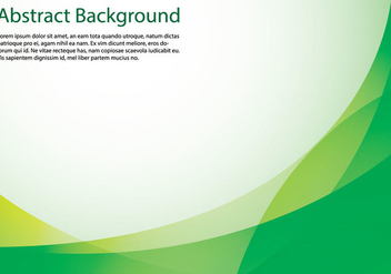 Abstract Green Background - vector #366637 gratis