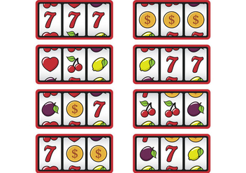 Slot Machine Display - Free vector #366927