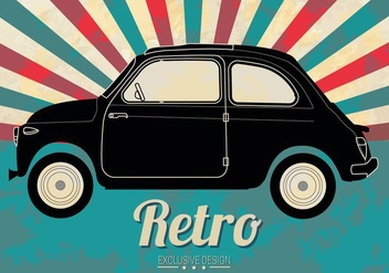 Free Line Old Car Vector - vector gratuit #367057