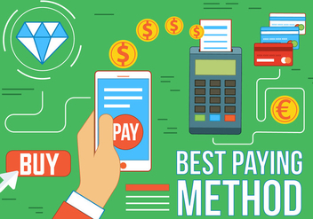 Free Vector Paying Method - vector gratuit #367267