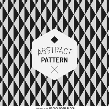 Geometric abstract pattern - vector gratuit #367557