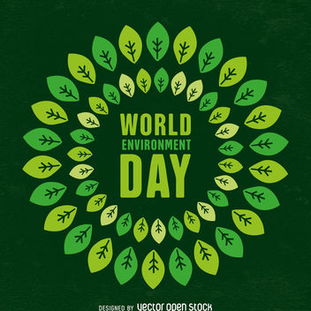 World environment day design - Kostenloses vector #367567