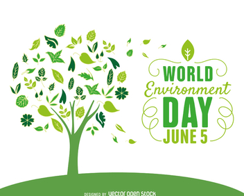 World environment day tree - Kostenloses vector #367577