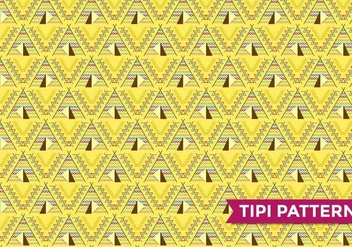 Tipi Indian Pattern Vector - Free vector #367707