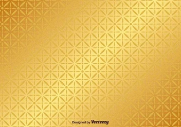 Golden Background Vector Pattern - vector #367977 gratis