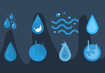 Free Water Vector Graphic 2 - бесплатный vector #368317