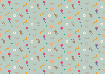Pastel Abstract Pattern - vector gratuit #368677