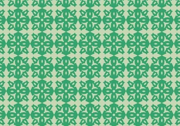 Flower Motif Pattern - vector #369407 gratis