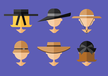 Vector Ladies Hat - vector #369437 gratis