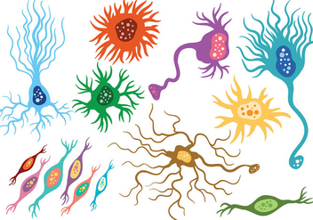 Free Neuron Icons Vector - бесплатный vector #369647
