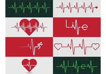 Heart Monitor Graphic - Free vector #370027