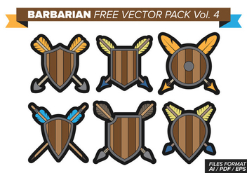 Barbarian Free Vector Pack Vol. 4 - vector gratuit #370177