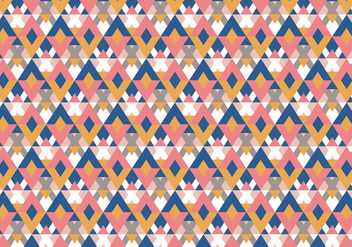 Traditional Pastel Pattern - vector gratuit #370187