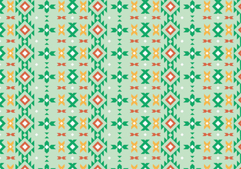 Native Rustic Pattern - vector gratuit #370197