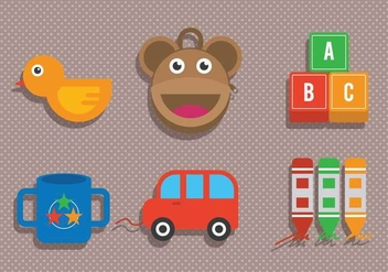 Kid Stuff Vector - vector #370207 gratis