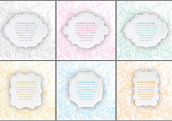 Floral Wedding Invitations - vector #370337 gratis