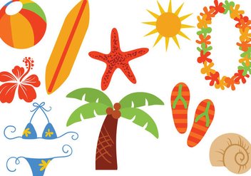 Free Hawaii Vectors - бесплатный vector #370437
