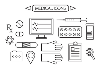 Free Medical Icons - vector gratuit #371087