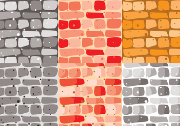 Stonewall Brick Vector - бесплатный vector #371137