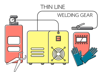 Welding Vector Elements - vector #371207 gratis