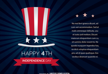 4th July Independence Day - vector #371237 gratis