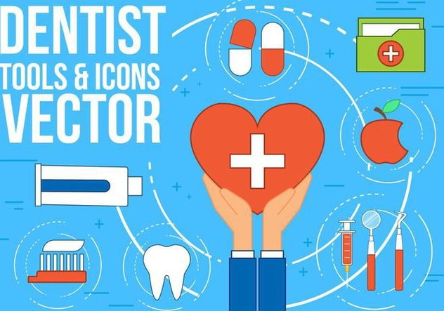 Free Dentist Vector Icons - vector gratuit #371567