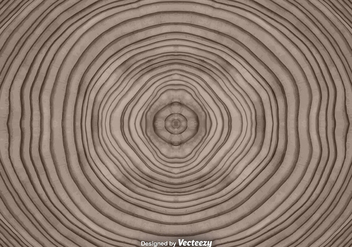 Vector Abstract Tree Rings Background - Kostenloses vector #371667
