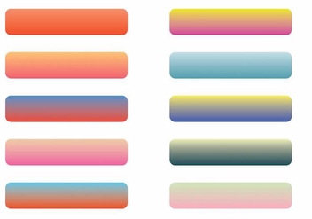 Webkit Linear Gradient Top Set - Kostenloses vector #371827
