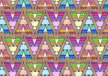 Free Vector Tipi Pattern - Free vector #371857