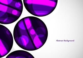 Free Vector Designer Circle Background - бесплатный vector #371887