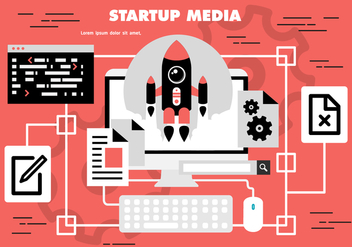 Free Startup Media Vector - Free vector #371917