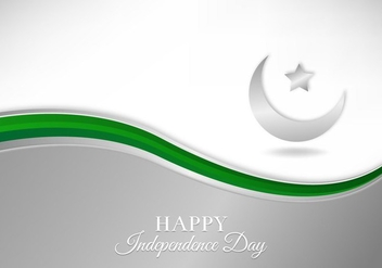 Free Vector Illustration With Pakistan Flag - Kostenloses vector #372457
