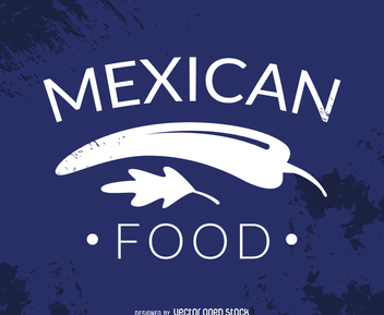 Hispter mexican food logo - vector gratuit #372517