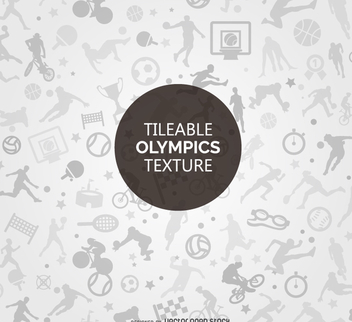 Rio 2016 Olympic sports texture - Free vector #372527