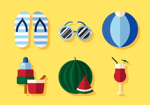 Vector Summer Season - vector #372577 gratis