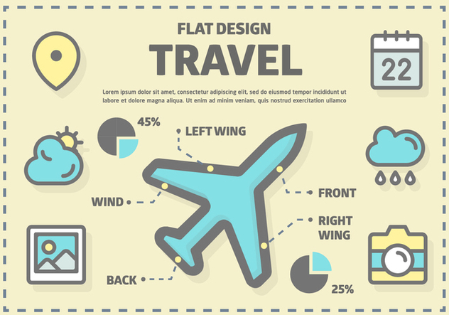 Free Travel Vector Elements - Kostenloses vector #372637
