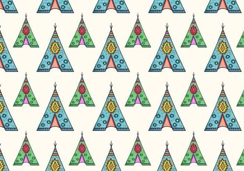 Free Vector Tipi Pattern - Free vector #372657