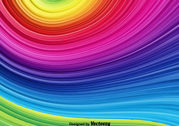 Vector Rainbow Background - vector #372677 gratis